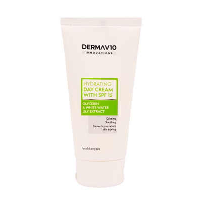 DermaV10 Hydrating Day Cream SPF15 50 ml