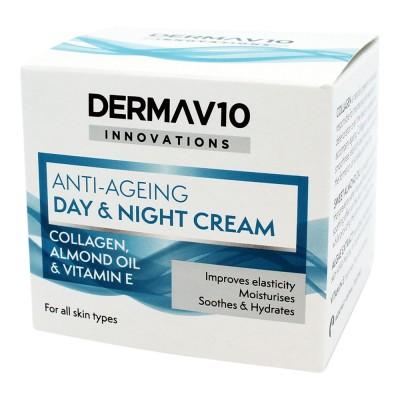 DermaV10 Anti-Ageing Day & Night Cream 50 ml