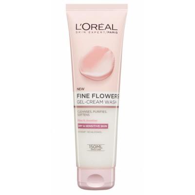 L'Oreal Fine Flowers Gel-Cream Wash 150 ml