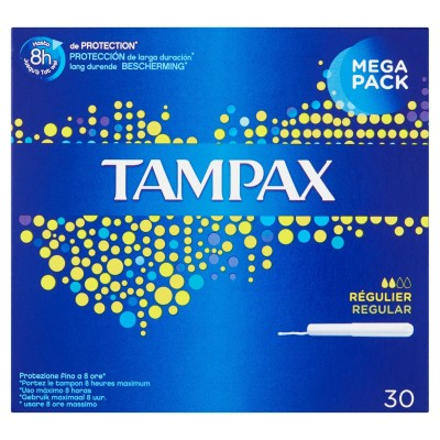 Tampax Regular 30 kpl