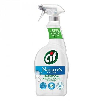 Cif Nature's Recipe Bathroom Limescale Removal 750 ml