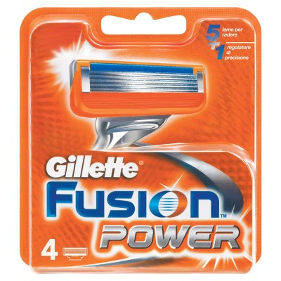 Gillette Fusion Power Razorblades 4 pcs