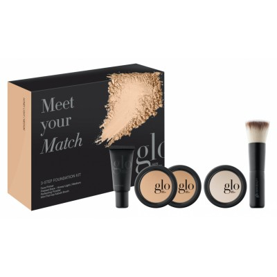 Glo Skin Beauty Meet Your Match Foundation Kit Honey 5 stk