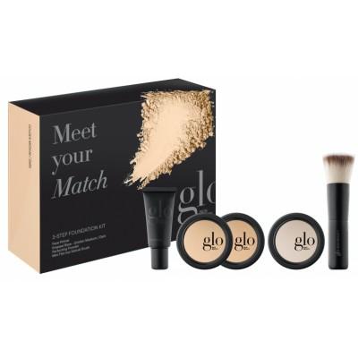 Glo Skin Beauty Meet Your Match Foundation Kit Golden 5 stk