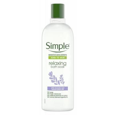 Simple Kind To Skin Relaxing Bath Soak 400 ml