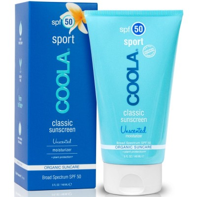 Coola Classic Sport Sunscreen Unscented SPF50 148 ml