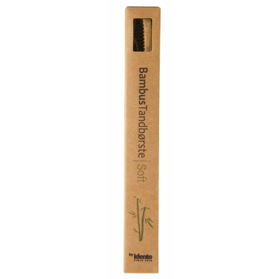 Idento Bamboo Toothbrush Soft 1 pcs