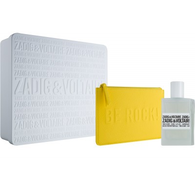 Zadig & Voltaire This Is Her! EDP & Be Rock Cosmetic Bag 50 ml + 1 st