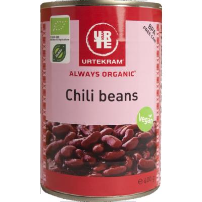 Urtekram Chili Beans Øko 400 g