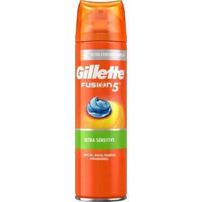 Gillette Fusion 5 Ultra Sensitive Shaving Gel 200 ml