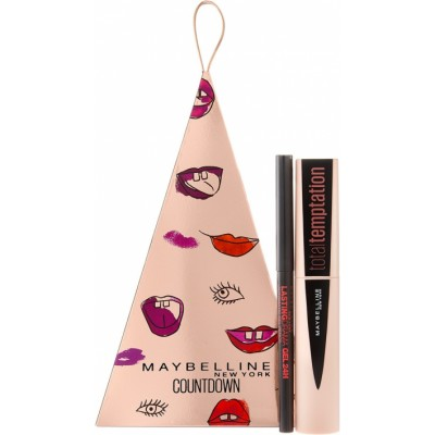 Maybelline Total Temptation Mascara Black & Lasting Drama Liner 8,6 ml