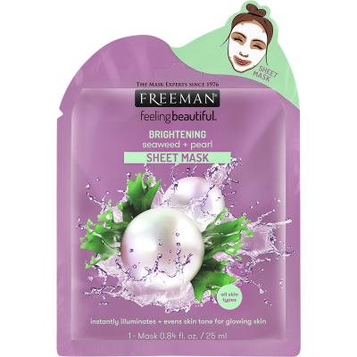 Freeman Brightening Seaweed & Pearl Sheet Mask 25 ml