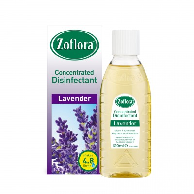 Zoflora Concentrated Disinfectant Lavender 120 ml