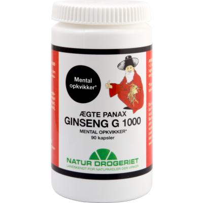 Natur Drogeriet Ginseng Kapsler G 1000 90 stk