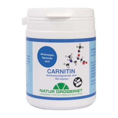 Natur Drogeriet Carnitin Kapsler 180 stk