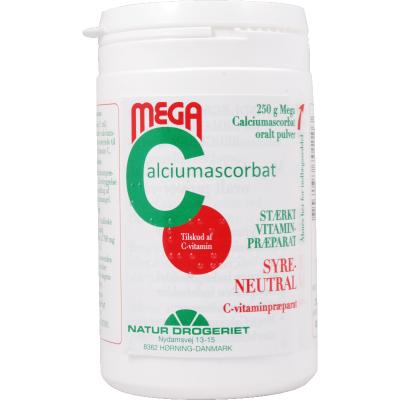 Natur Drogeriet Mega C Pulver 250 g