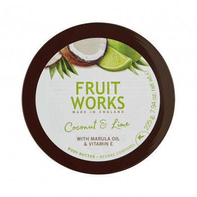 Grace Cole Fruit Works Coconut & Lime Body Butter 225 g