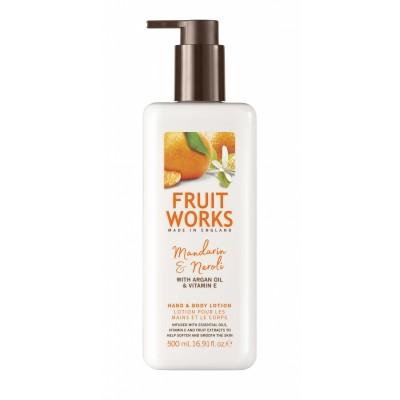 Fruit Works Mandarin & Neroli Hand & Body Lotion 500 ml