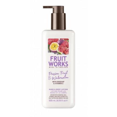 Grace Cole Fruit Works Passion Fruit & Watermelon Hand & Body Lotion 500 ml