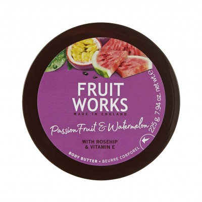 Grace Cole Fruit Works Passion Fruit & Watermelon Body Butter 225 g