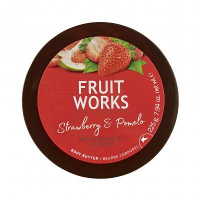 Grace Cole Fruit Works Strawberry & Pomelo Body Butter 225 g