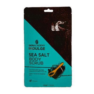 Skin Academy Indulge Sea Salt Body Scrub 200 g