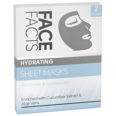 Face Facts Hydrating Sheet Masks 2 kpl