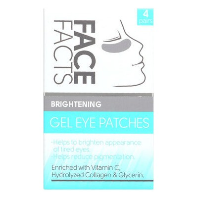 Face Facts Brightening Gel Eye Patches 4 paar