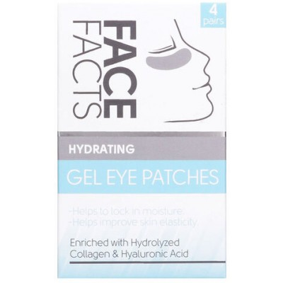 Face Facts Hydrating Gel Eye Patches 4 pari