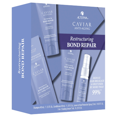 Alterna Caviar Restructuring Bond Repair Trial Kit 40 ml + 40 ml + 25 ml + 7 ml