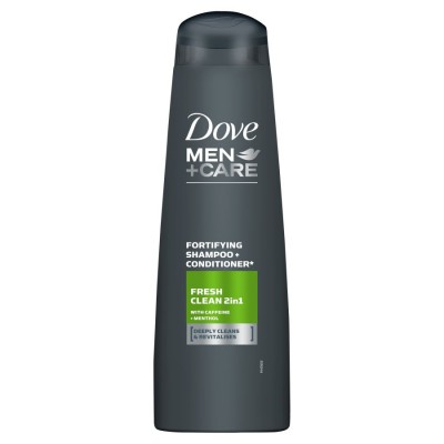 Dove Men Fortifying Shampoo & Conditioner 400 ml