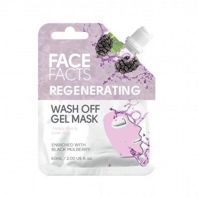 Face Facts Regenerating Wash Off Gel Mask 60 ml
