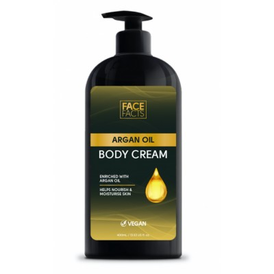 Face Facts Argan Oil Body Cream 400 ml