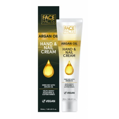 Face Facts Argan Oil Hand & Nail Cream 50 ml