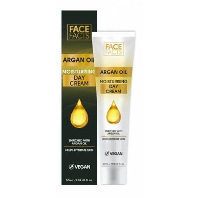 Face Facts Argan Oil Moisturising Day Cream 50 ml