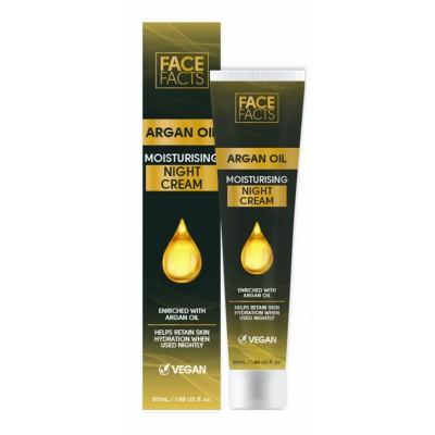 Face Facts Argan Oil Moisturising Night Cream 50 ml