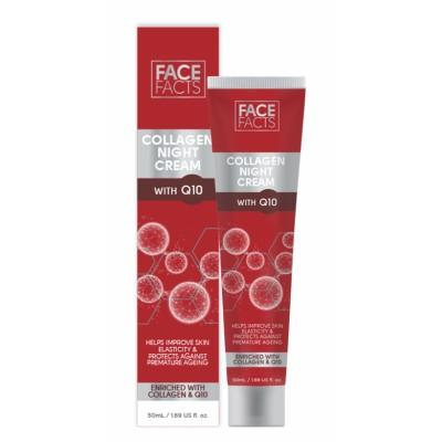 Face Facts Collagen Q10 Night Cream 50 ml