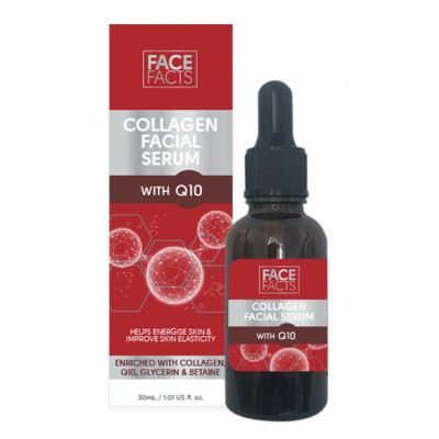 Face Facts Collagen Q10 Facial Serum 30 ml