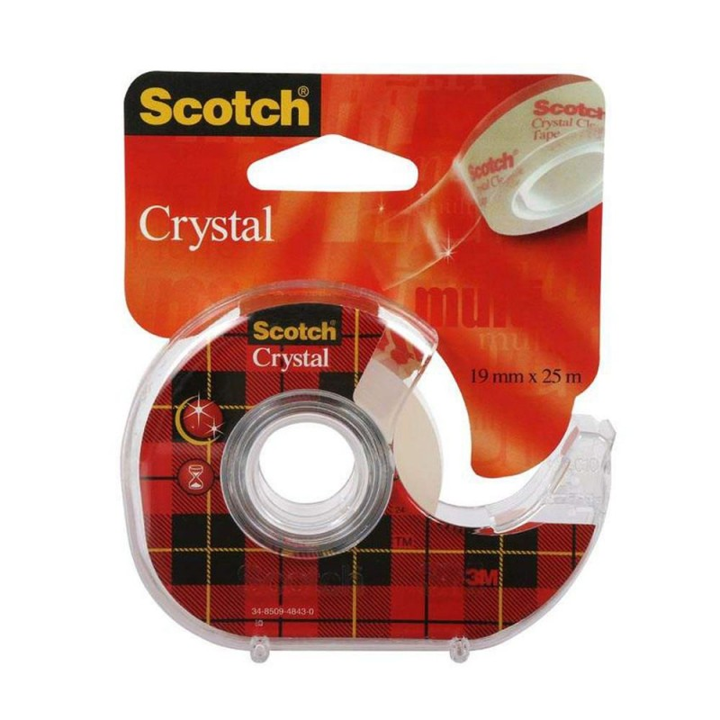 Scotch Crystal Tape 19 mm x 25 m Husholdning