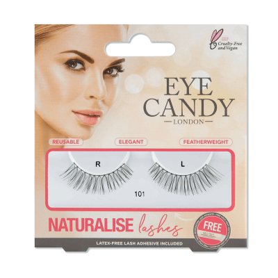 Eye Candy Naturalise False Eyelashes 101 1 pari