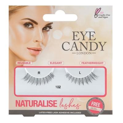 Eye Candy Naturalise False Eyelashes 102 1 pari