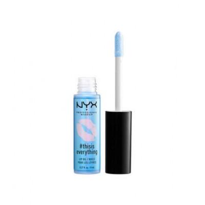 NYX #Thisiseverything Lip Oil Sheer Sky Blue 8 ml