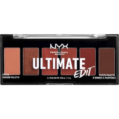 NYX Ultimate Edit Petite Shadow Palette Warm Neutrals 1 stk
