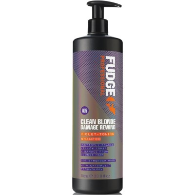 Fudge Fudge Fudge Clean Blonde Damage Rewind Shampoo 1000 ml 1000 ml