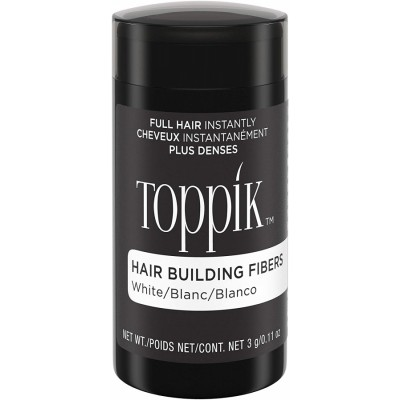 Toppik Hair Building Fibers White 3 g