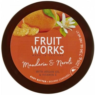 Fruit Works Mandarin & Neroli Body Butter 225 g