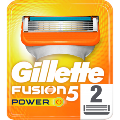 Gillette Fusion 5 Power Razor Blades 2 pcs