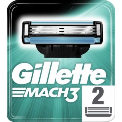 Gillette Mach3 partahöylä 2 kpl