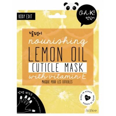Oh K! Nourishing Lemon Oil Cuticle Mask 10 st