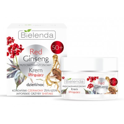 Bielenda Red Ginseng Anti-Wrinkle Moisturizer 50+ 50 ml